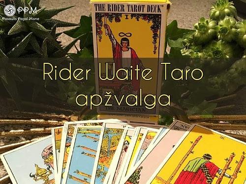Rider-Waite taro apžvalga